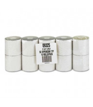 "PM Company 2-1/4"" X 70 Ft., 10-Pack, Canary, POS/Calculator Rolls"