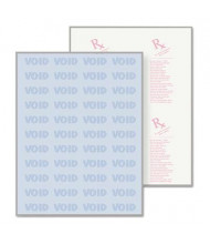 "DocuGard 8-1/2"" x 11"", 24lb, 500-Sheets, Blue Rx Medical Security Paper"