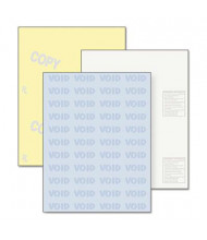 "DocuGard 8-1/2"" x 11"", 32lb, 500-Sheets, Blue/Canary Medical Security Paper"
