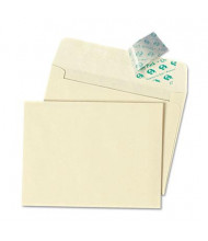 "Quality Park 4-3/8"" x 5-3/4"" Contemporary #5-1/2 Redi-Strip Greeting Card Envelope, Ivory, 100/Box"