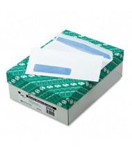 "Quality Park 3-7/8"" x 8-5/8"" Contemporary #9 Address Window Envelope, White, 500/Box"