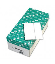 "Quality Park 4-3/4"" x 6-1/2"" Contemporary #6 Greeting Card Envelope, White, 500/Box"