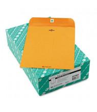 "Quality Park 8-3/4"" x 11-1/2"" #87 32lb Clasp Envelope, Brown Kraft, 100/Box"