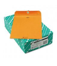 "Quality Park 9"" x 12"" #90 32lb Clasp Envelope, Brown Kraft, 100/Box"