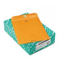 "Quality Park 9-1/2"" x 12-1/2"" #93 32lb Clasp Envelope, Brown Kraft, 100/Box"