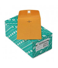 "Quality Park 5"" x 7-1/2"" #35 Clasp Envelope, Brown Kraft, 100/Box"