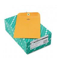 "Quality Park 7"" x 10"" #68 Clasp Envelope, Brown Kraft, 100/Box"