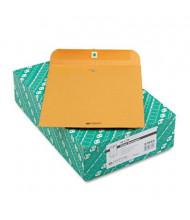 "Quality Park 10"" x 12"" #95 Clasp Envelope, Brown Kraft, 100/Box"