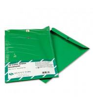 "Quality Park 9"" x 12"" #90 Fashion Color Clasp Envelope, Green, 10/Pack"