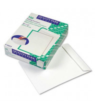 "Quality Park 10"" x 13"" #97 Catalog Envelope, White, 100/Box"