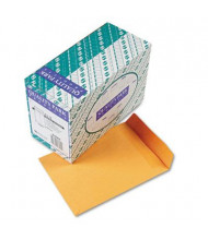 "Quality Park 9"" x 12"" Redi-Seal #90 Catalog Envelope, Brown Kraft, 250/Box"