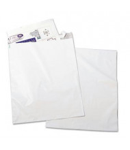 "Quality Park 19"" x 24"" Side Seam Redi-Strip Poly Mailer, White, 50/Pack"
