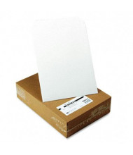 "Quality Park 9-3/4"" x 12-1/2"" Side Seam Photo Document Mailer, White, 25/Box"