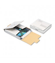 "Quality Park 5-3/4"" x 5-3/4"" Corrugated CD DVD Mailer, White"