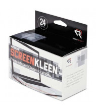 Read Right Notebook ScreenKleen Pads, 24/Box