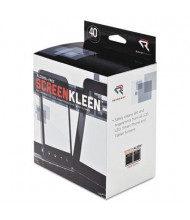 Read Right ScreenKleen Alcohol-Free Wipes Box, 40 Wipes