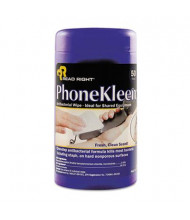 Read Right PhoneKleen Wipes Can, 50 Wipes