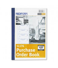 "Rediform 2-3/4"" x 7-7/8"" 400-Page Purchase Order Book"