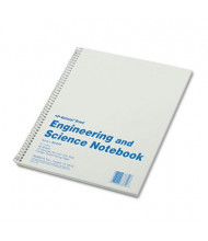 "Rediform 8-1/2"" X 11"" 60-Sheet Quadrille & College Rule Engineering & Science Notebook"
