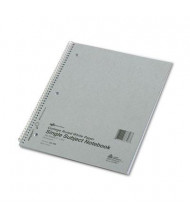 "National Brand 8-7/8"" X 11"" 100-Sheet College Rule Notebook"