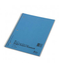 "National Brand 8-7/8"" X 11"" 50-Sheet College Rule Notebook, Blue Cover"