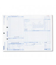 "Rediform 8-1/2"" x 11"" Speediset Auto Repair Form, 50-Forms"