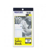 "Rediform 3-5/8"" x 6-3/8"" 50-Page 2-Part Carbonless Sales Book"