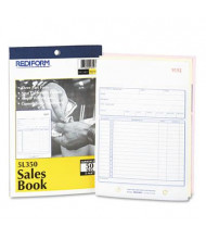 "Rediform 5-1/2"" x 7-7/8"" 50-Page 3-Part Carbonless Sales Book"