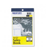 "Rediform 4-1/4"" x 6-3/8"" 50-Page 2-Part Carbonless Sales Book"