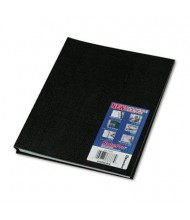 "Rediform Blueline NotePro 8-1/2"" X 11"" 100-Sheet College Rule Wirebound Notebook, Black Cover"