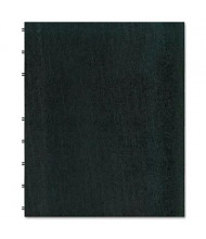 "Rediform Blueline MiracleBind 9-1/16"" X 11"" 75-Sheet College Rule Notebook, Black Cover"