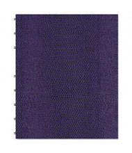 "Rediform Blueline MiracleBind 7-1/4"" X 9-1/4"" 75-Sheet College Rule Notebook, Purple Cover"