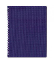 "Rediform Blueline Duraflex 8-1/2"" X 11"" 80-Sheet College Rule Notebook, Blue Cover"