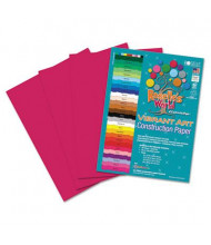 "Roselle Vibrant Art 9"" x 12"", 58 lb, 50-Sheets, Scarlet Heavyweight Construction Paper"