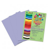 "Roselle Bright Colors 12"" x 18"", 76 lb, 50-Sheets, Lilac Sulphite Construction Paper"
