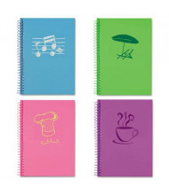 "Roaring Spring 5"" X 7"" 80-Sheet 4-Pack College Rule Lifenotes Notebook"
