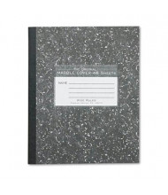 "Roaring Spring 7"" X 8-1/2"" 48-Sheet Wide Rule Composition Book, Black Marble Cover"