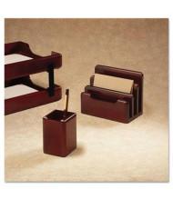 Rolodex Wood Tones Pencil Cup, Mahogany