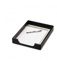 Rolodex Wood Tones Letter Desk Tray, Black