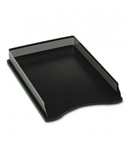 Rolodex Distinctions Self-Stacking Legal Desk Tray, Metal/Black