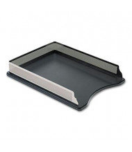 Rolodex Distinctions Self-Stacking Letter Desk Tray, Metal/Black