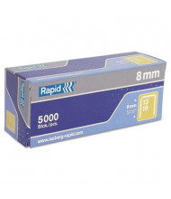 "Rapid Fine Wire Staples for Staple Guns, 5/16"" Leg, 5000/Box"