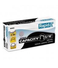 "Rapid 50-Sheet Capacity Staples for S50, 5/16"" Leg, 5000/Box"