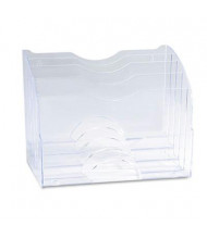 Rubbermaid 5-Section Two Way Multinational Organizer, Clear
