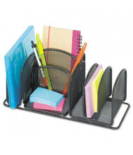 Safco 6-Section Mesh Deluxe Organizer