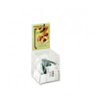 """Safco Clear Collection Box 5.5"""" W x 5.5"""" D 13"""" H"""