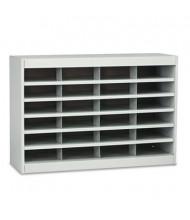 Safco 24-Compartment E-Z Stor Steel Literature Sorter, Gray