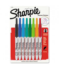 Sharpie Retractable Permanent Marker, Ultra Fine Tip, Assorted, 8-Pack