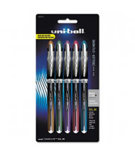 Uni-ball Vision Elite BLX 0.5 mm Micro Stick Roller Ball Pens, Assorted, 5-Pack