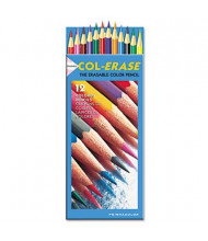 Prismacolor Col-Erase 0.7 mm Assorted Colors Woodcase Pencils, 12-Pack